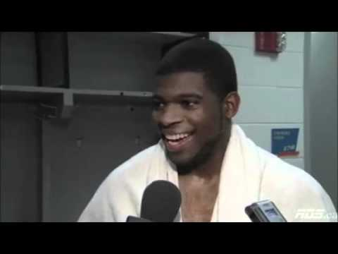 P.K. Subban talks about his homosexuality