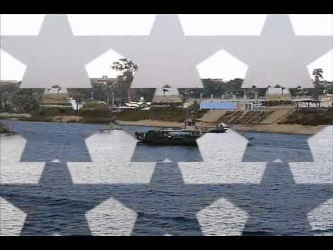 M/V NORDSUN crossing the Suez canal