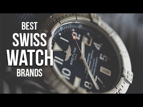 Top 5 Best Swiss Watch Brands for Men in 2017