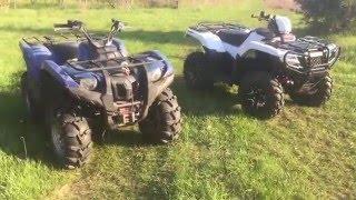 Video 2016 Honda Rubicon Vs 2008 Yamaha Grizzly 700 download MP3, 3GP, MP4, WEBM, AVI, FLV Juni 2018
