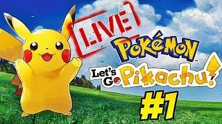Nuova SERIE LIVE? Ep. #1 - Pokemon Let's Go Pikachu
