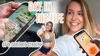 DAY IN THE LIFE of a content creator + Pilateskurs | Vlog