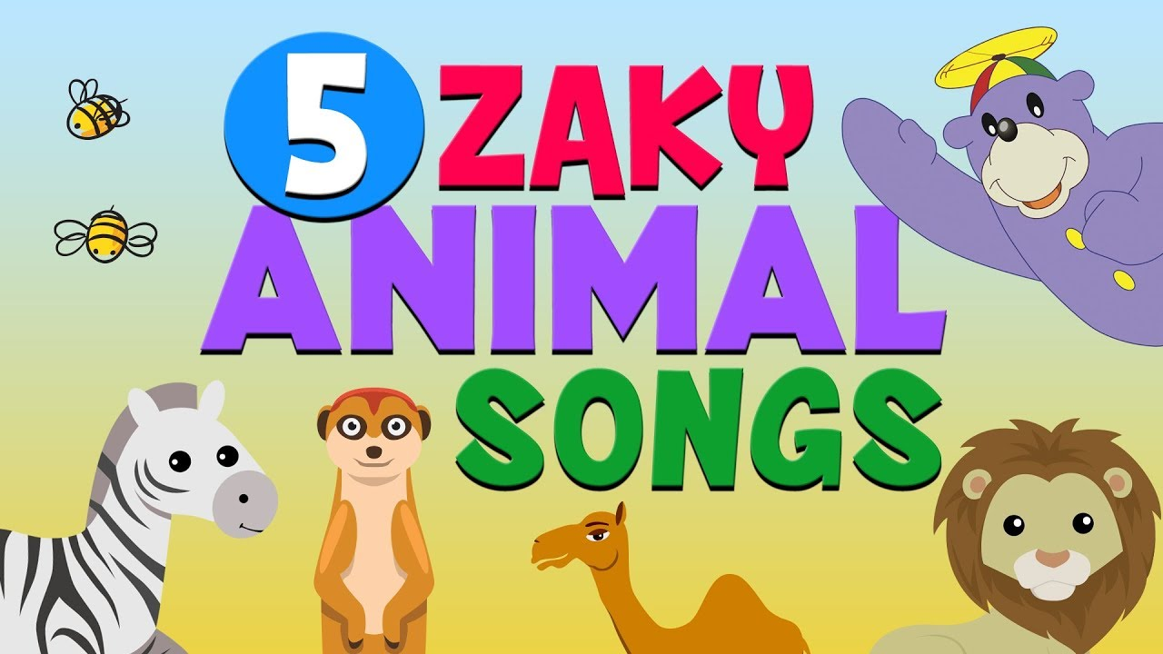 Download 5 Zaky Animal Songs For Kids - Muslim Cartoons