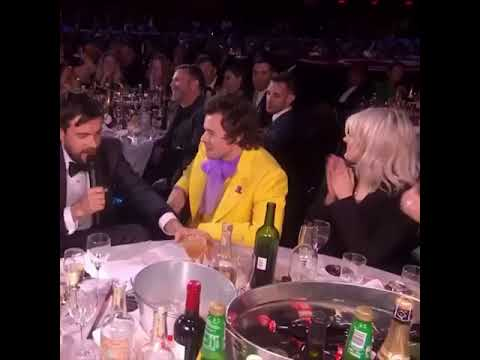 Harry Styles And Tequila At The BRITS