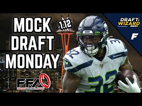 Fantasy Football Mock Draft - 2020 Fantasy Football Advice | 12 Team | Half PPR | 12th Pick