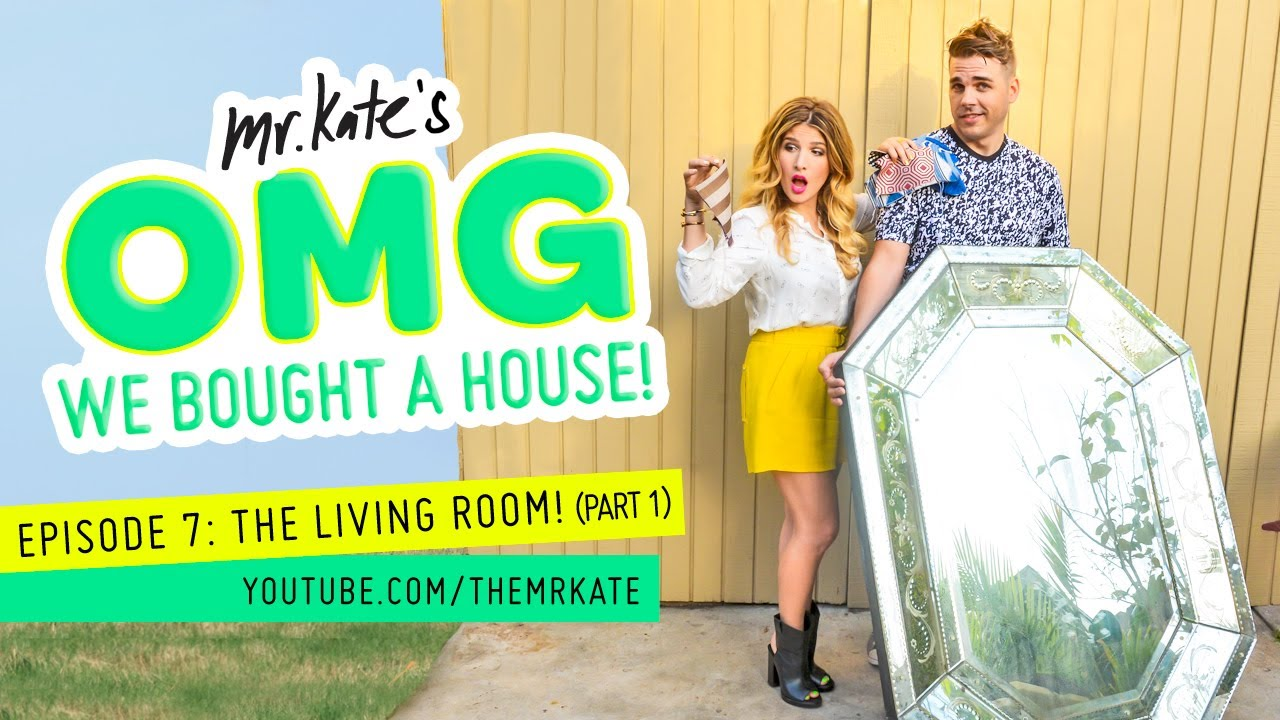 The Living Room! (part 1) | OMG We Bought A House!