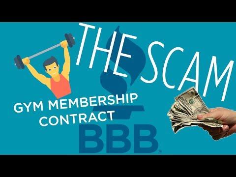 GYM Membership - The Scam