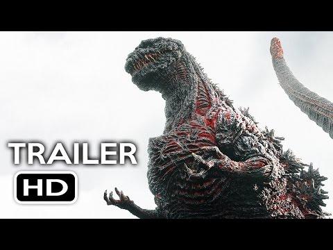 Godzilla Resurgence Official US Trailer #1 (2016) Shin Godzilla Movie HD streaming vf