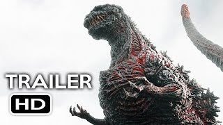 Godzilla Resurgence Official US Trailer #1 (2016) Shin Godzilla Movie HD
