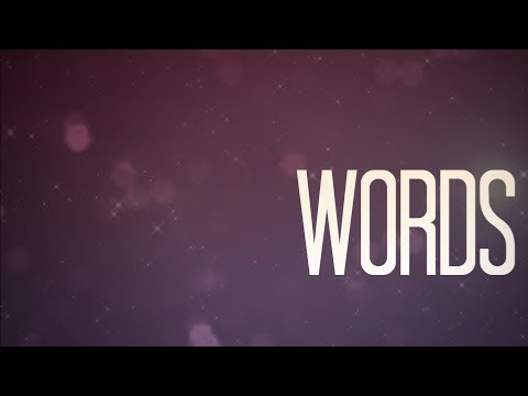 Anna Graceman - Words (Lyric Video)