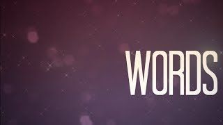 Anna Graceman - Words (Lyric Video)