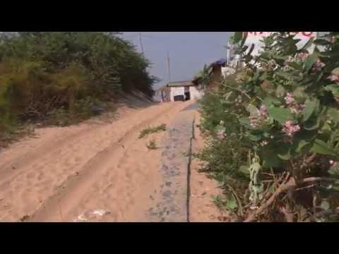 Путь от отеля Lotus Resorts до пляжа. Индия, Гоа, Беналим