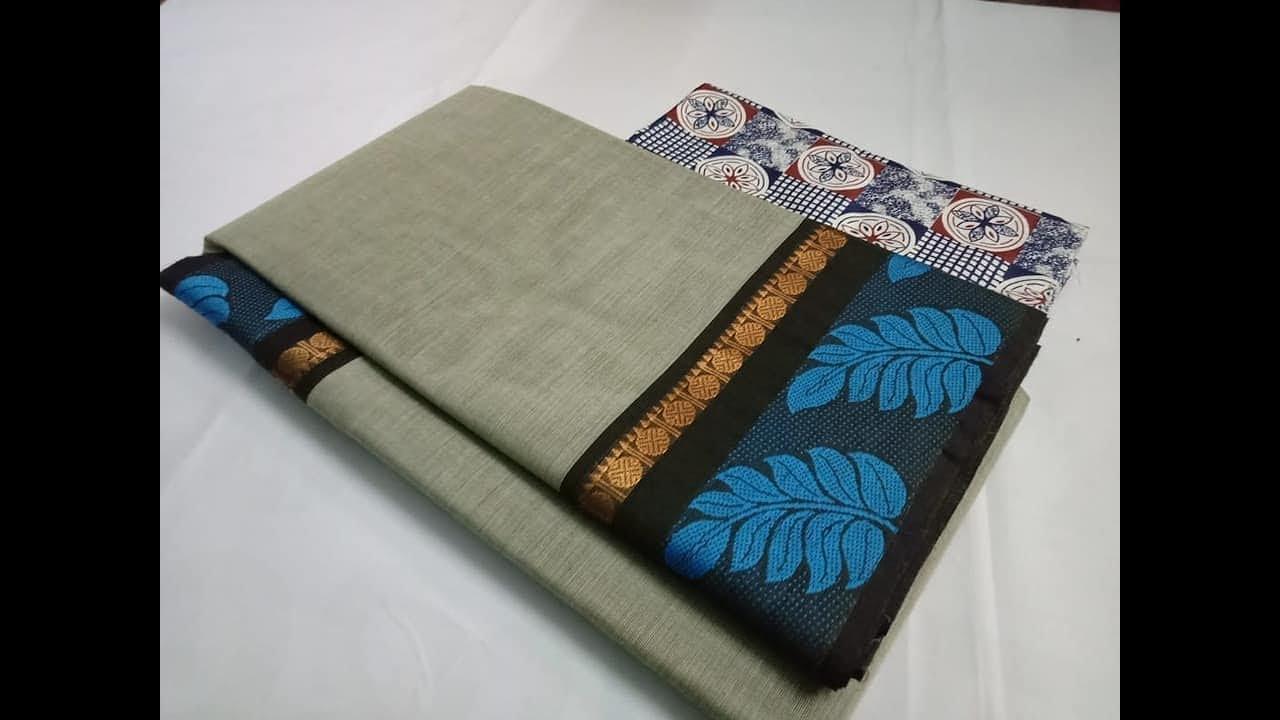 ff8074cadb New Arrival Pure Chettinad Cotton Sarees    Latest Chettinad Pure Cotton  Saree Collections