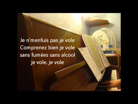 Michel Sardou  - Je Vole Version Louane + Paroles