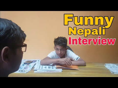 Job Interview in water suppliers Office | Nepali Comedy | Ganesh GD |