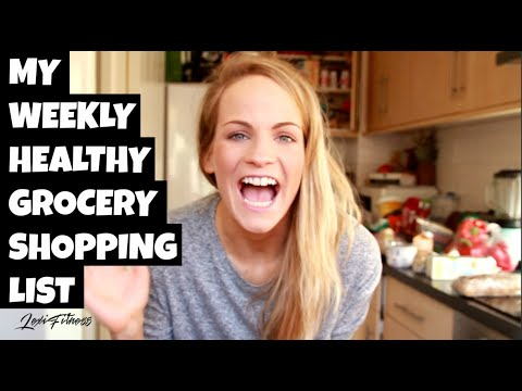 Healthy Food Shopping List for Right Nutrition