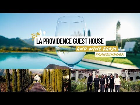 South Africa Cape Town Franschhoek: Visiting La Providence Guest House and Wine Farm