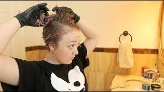 FIRST TIME DYING (my hair) | Meghan McCarthy