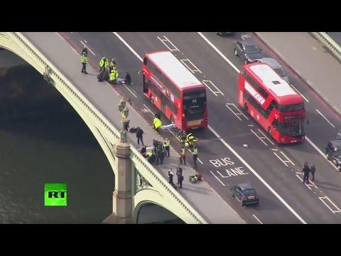 Westminster après les coup de feu entendus près du parlement britannique (Direct du 22.03)