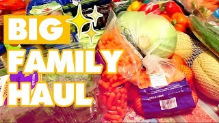 Once-a-Month Large Family Grocery Shopping Haul    Freezer Meals, THM //  Jamerrill Stewart