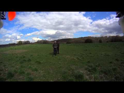 Quadcopter FPV test run on a sunny windless day in Bradford