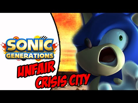 Sonic Generations (PC) Unfair Crisis City