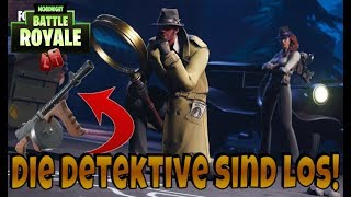 FORTNITE SKINS THE DEDEKTIVE ARE LOS!