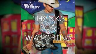 Brad Paisley - Oh Yeah, You're Gone (Lyrics)