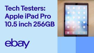 Apple iPad Pro 10.5 inch 256GB review by Allan | eBay TechTesters
