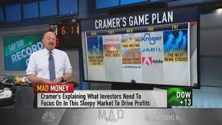 Cramer's game plan for the trading week of June 14, 2021