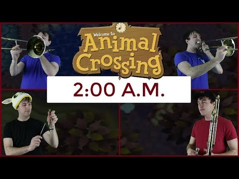 2:00 A.M. (Trombone and Percussion Cover) from Animal Crossing (GCN) - dannymusic