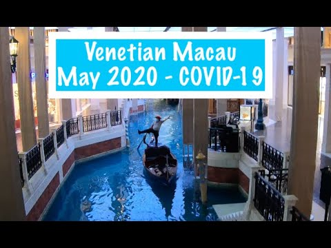 4k Walking Macau Venetian Casino Covid 19 How Many Players Are Playing Youtube