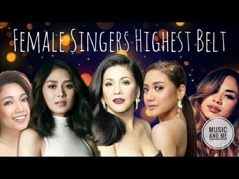 FEMALE FILIPINO SINGERS Highest Belted Notes!!!