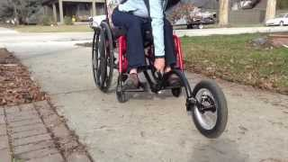 FreeWheel ADAPTOR for Folding Wheelchairs