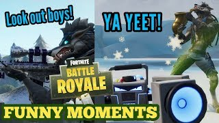 WAFFLE GOES SAVAGE!! || Fortnite Battle Royale Funny Moments