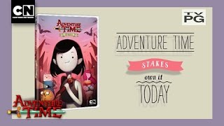"""Adventure Time: Stakes (2015) 2016 DVD """"Now Available"""" TV spot"""