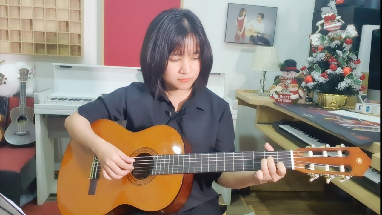 [Hướng dẫn Guitar] NHỎ ƠI – intro tab – Tưởng nhớ Chú Chí Tài -Người nghệ sĩ đáng kính ❤️