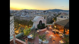 Vista aérea del Hotel El Palace Barcelona