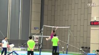 Shang Chunsong UB training 2014 Worlds Nanning Day 2