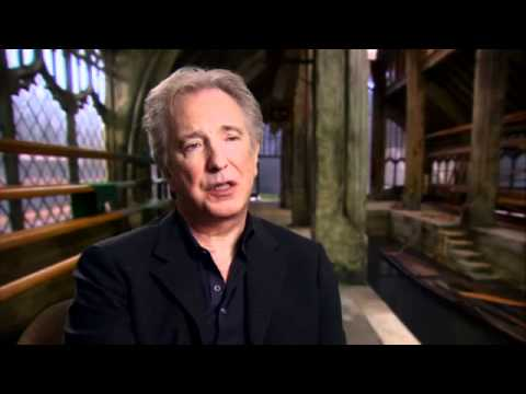 Harry Potter and the Deathly Hallows Part 2 : Official Alan Rickman - Severus Snape Interview