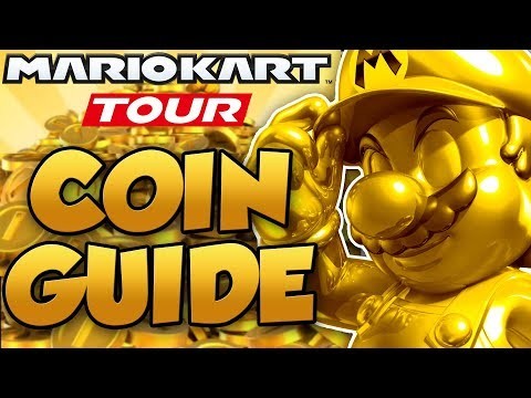 Mario Kart Tour - 6 EASY Ways To Earn Coins! F2P Coin Guide