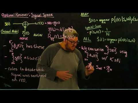 Digital Communications: Optimal Receiver - Signal Space Formulation