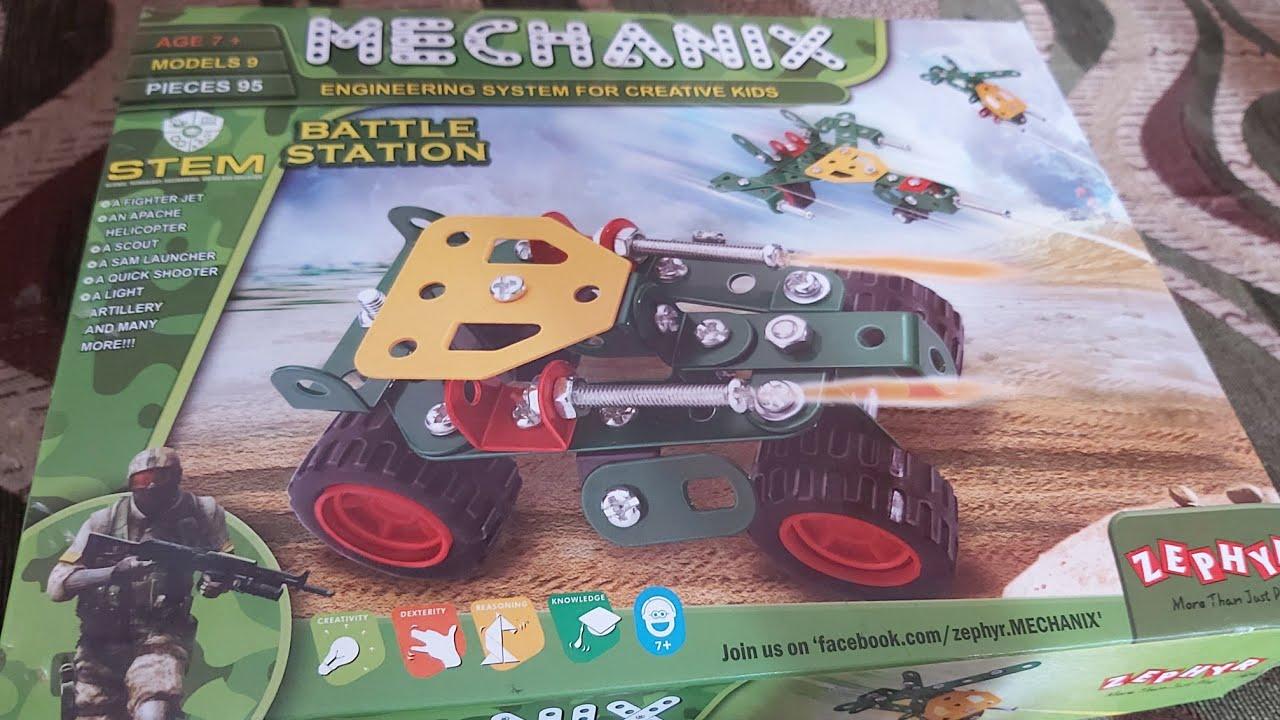 Details about  /Mechanix Battle Station 9 models step-by-step manual high quality steel make