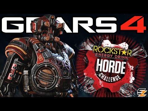 Gears of War 4 Rockstar Horde Challenge - Win Epic Prizes! (Gears 4 Rockstar Energy Drink)