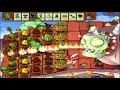 Plants vs Zombies Halloween DrBoss Survival Roof