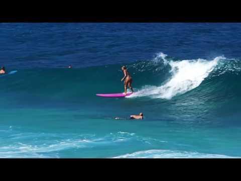 Ehukai Surfing Beach-Girls Rule 2