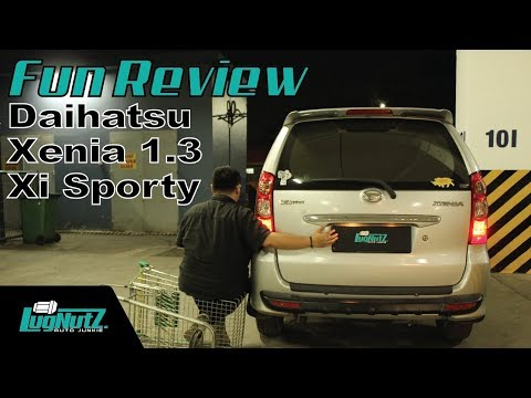 Daihatsu Xenia 1.3 Xi Sporty FUN REVIEW - LMPV Paling Ekonomis? | LUGNUTZ Indonesia