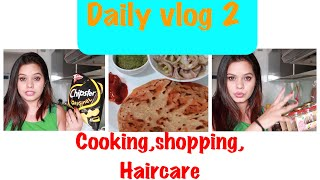 DAILY VLOG 2 || HAIR CARE ROUTINE AND WHAT DID I COOK FOR DINNER  || CAROUSELL EXHIBITION