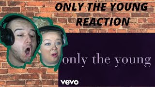 Taylor Swift - Only The Young (Featured in Miss Americana / Lyric Video) | COUPLE REACTION VIDEO