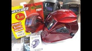 Сварочная маска FORTE MC 9100 9000 3500 обзор и сравнение